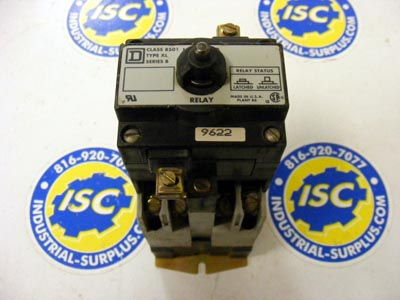 <b>Square D - </b>8501-XL Relay Latch Attachment and 8501-XO-20